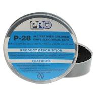 P-28 Black Electrical Tape