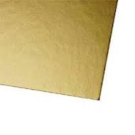 "Showcard - Shiny Gold - 28"" x 44"""