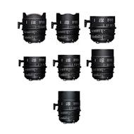 Sigma Cine FF Prime 7 Lens Set