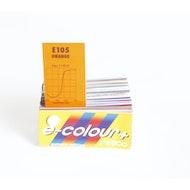 """Orange 90 - 21""""x 24"""" Gel Sheet"""