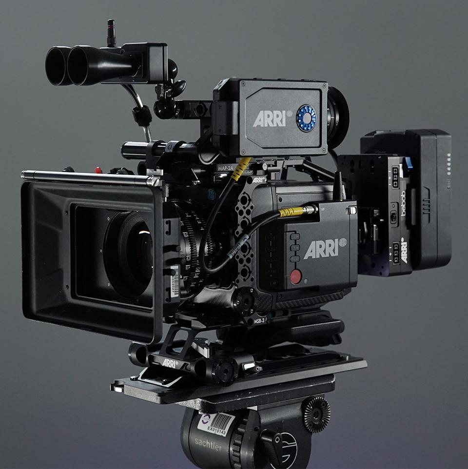 Professional Camera & Lens