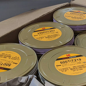 Film Cans In Box